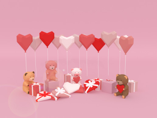 Low Poly Love Gifts and Romantic Pack