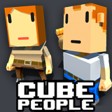 Cube People - Crowd by Fatty War