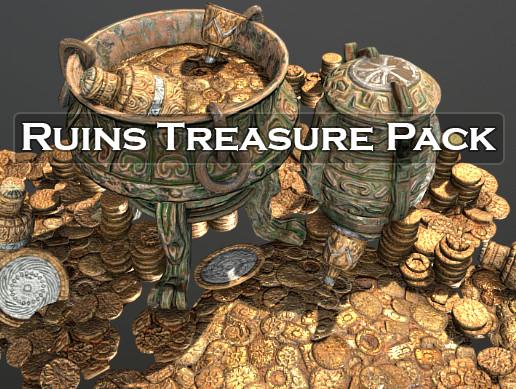 Ruins Treasure Asset Pack