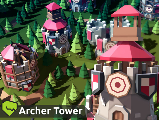 TARBO - [LevelUp] Archer Tower Pack