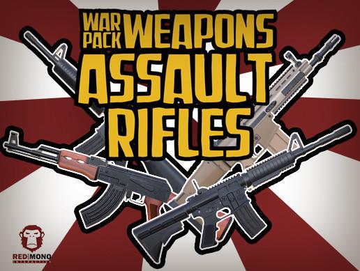War Pack Weapons Assault Rifles HD