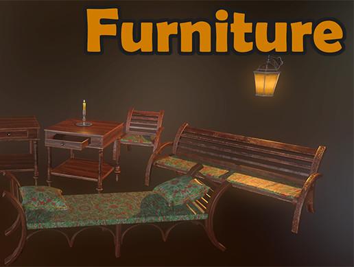 PBR Furniture Pack by SworDer