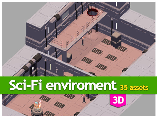 Sci-Fi enviroment Package