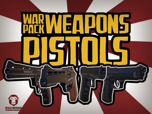 War Pack Weapons Pistols HD