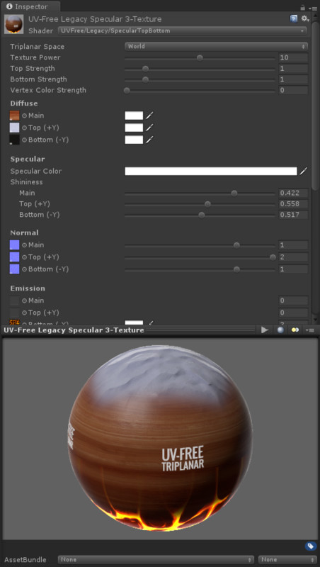 UV-Free Triplanar Shader Pack • VFX/Shaders • ModelAssets