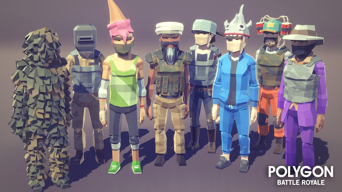POLYGON - Battle Royale Pack • 3D/Environments/Urban • ModelAssets
