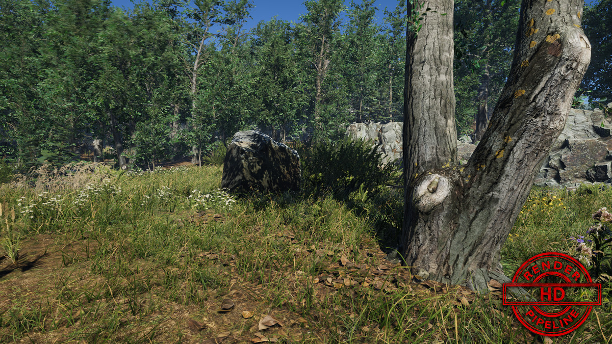 Meadow Environment - Dynamic Nature • 3D/Vegetation • ModelAssets