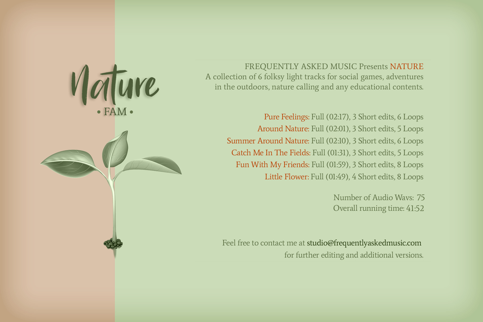 Nature - Volume 01