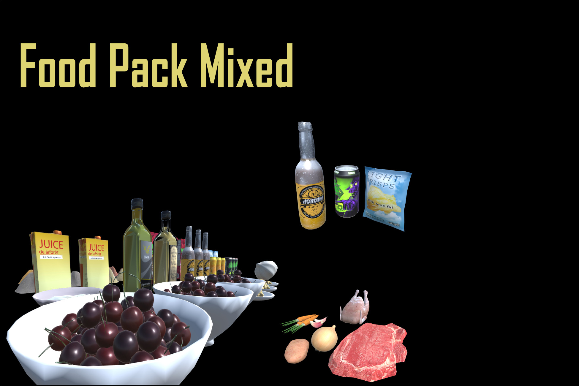 Food Pack Mixed