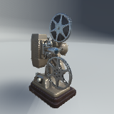 Retro Film Projector
