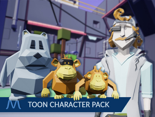 Low Poly Toon Character Pack
