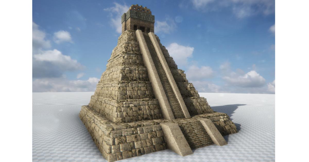 AAA+ Mayan Pyramid