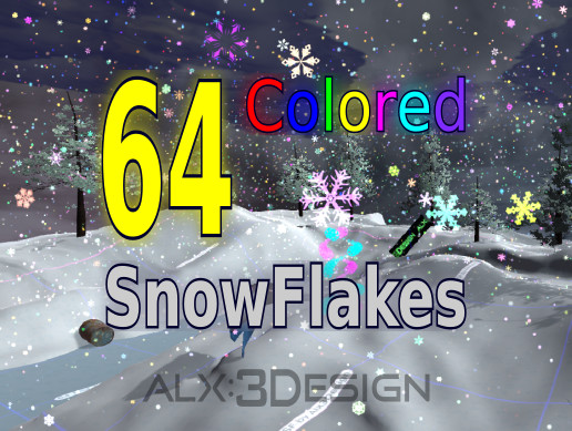 64 Magic SnowFlakes