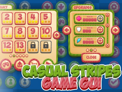 Casual Stripes - Game GUI