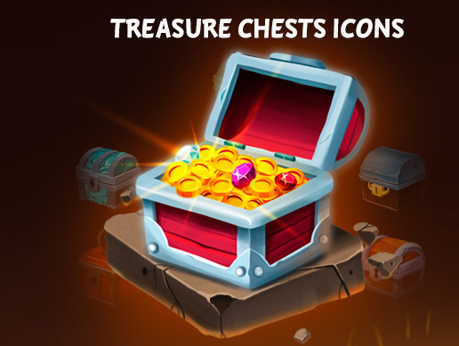 Treasure Chest 2 Icons