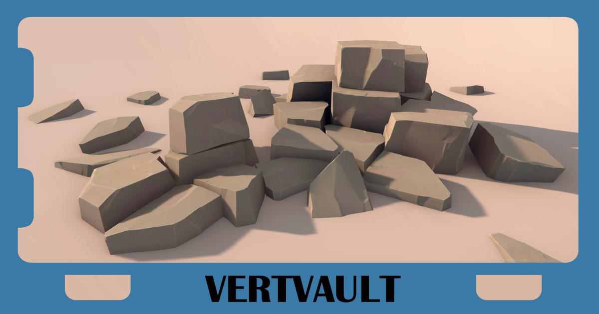 Vert Vaults - Rocks pack LITE