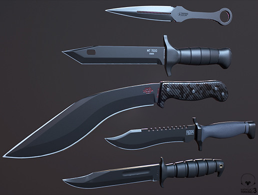 Combat / Tactical Knives Pack