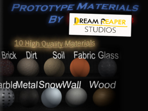 Prototype Materials Pack