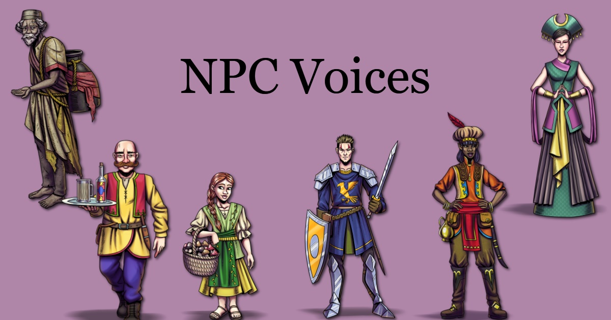 NPC voice bundle
