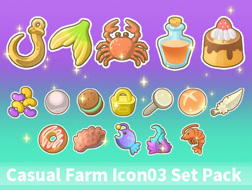 Casual Farm Icon03 Set Pack