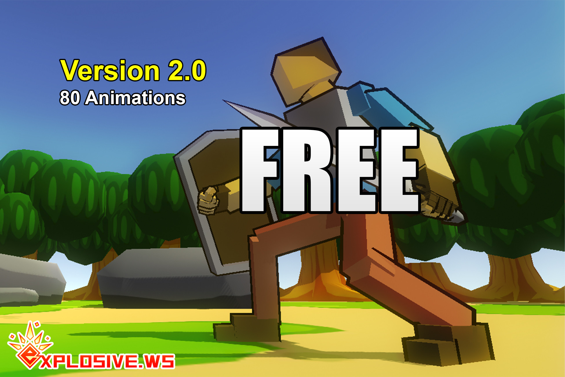 RPG Character Mecanim Animation Pack FREE - Asset Store