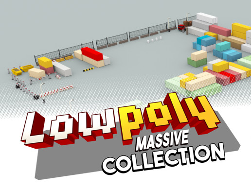 Lowpoly Massive Collection