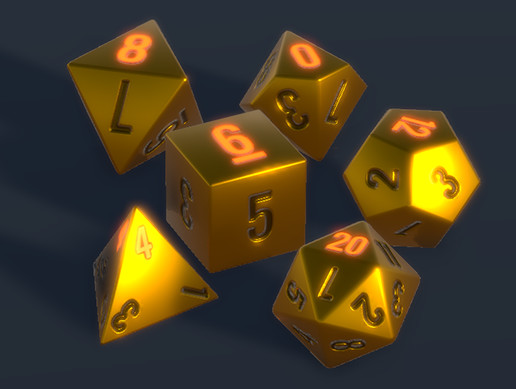 Animated Dice