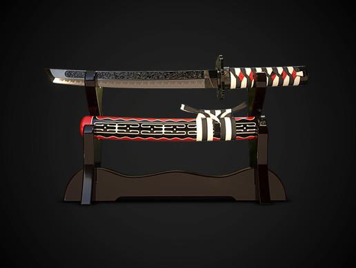 Samurai sword tanto No.02