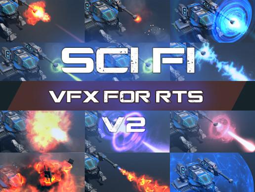 VFX For Sci-Fi RTS v2