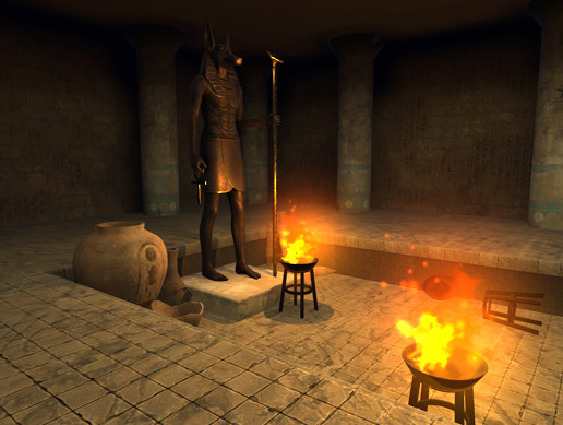Modular Egypt Tomb
