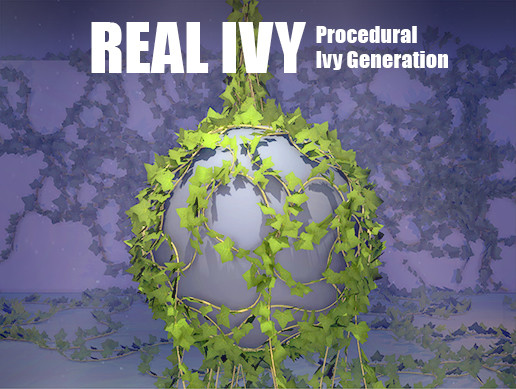 Real Ivy 2 - Procedural Ivy Generator