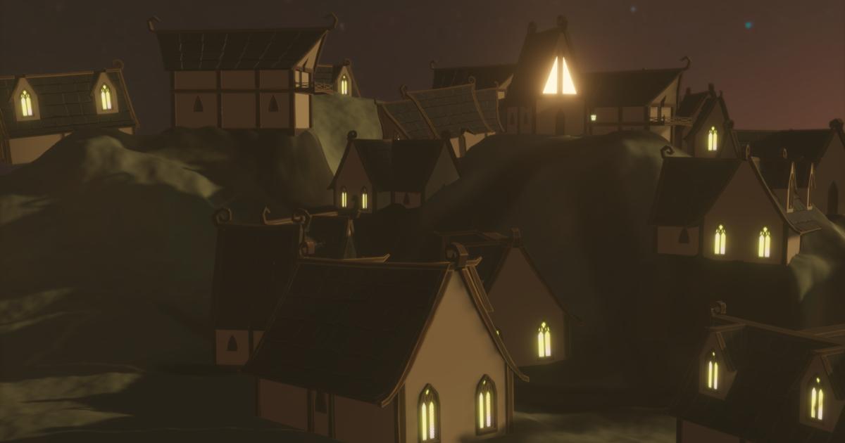 Elf Houses Pack