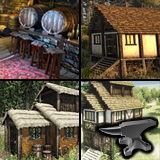 Medieval Village Kit Bundle