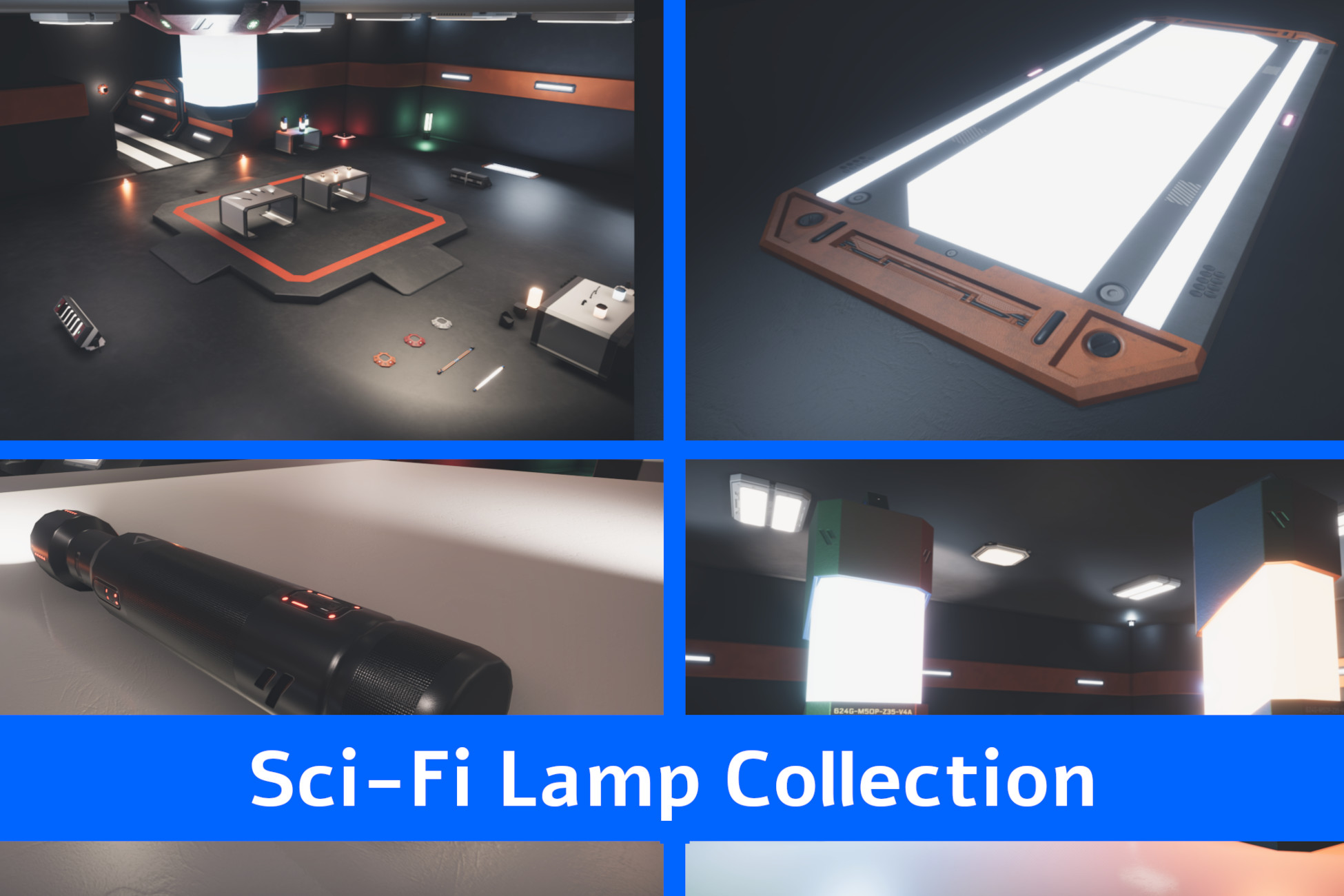 Sci-Fi Lamp Collection
