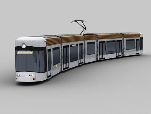 Lowpoly Tram 6