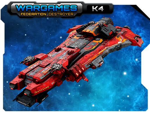 Federation Destroyer K4