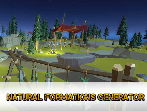 NFG : Natural Formations Generator Plugin