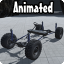 Kinematic Car Suspension - Offroad Car