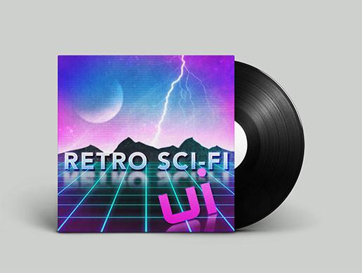 UI - Retro Sci Fi