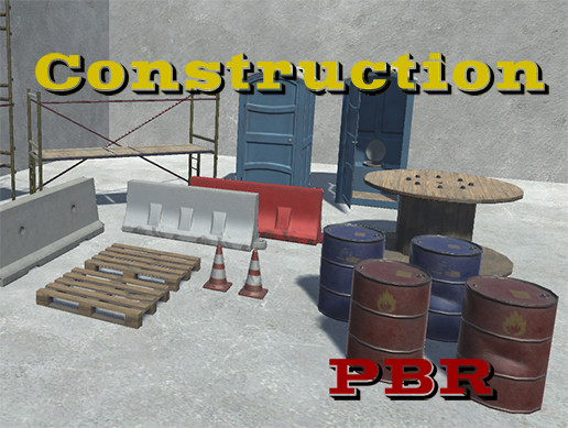 PBR Сonstruction props Pack