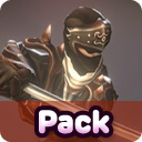 Ninja & Enemies pack