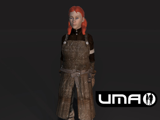 UMA Blacksmith Female