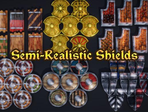 Semi-Realistic Shields