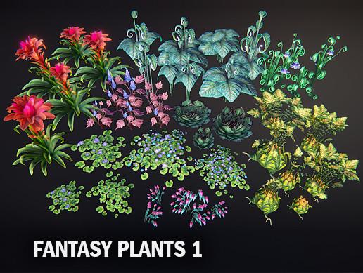 Fantasy plants 1