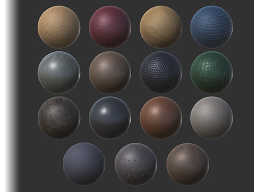 Material Pack - Leather (4K)