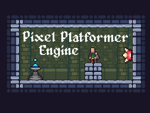 Pixel Platformer Engine - Responsive 2d Platformer Toolkit