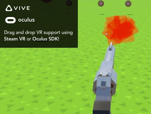 Revolver Kit VR - No code needed!