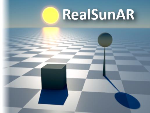 RealSunAR - Sun and shadows matching the real world