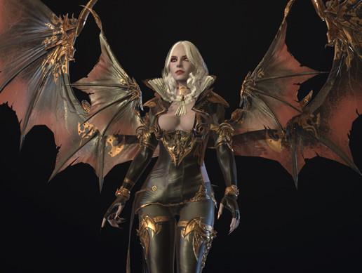Vampire girl remastered