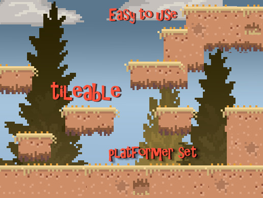 Easy to Use Platformer Set